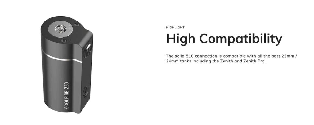 Innokin Coolfire Z50 with Zlide 4ml Starter Kit Australia