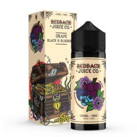 Redback Juice Co. 100ml Ejuice Grape Black Blueberry