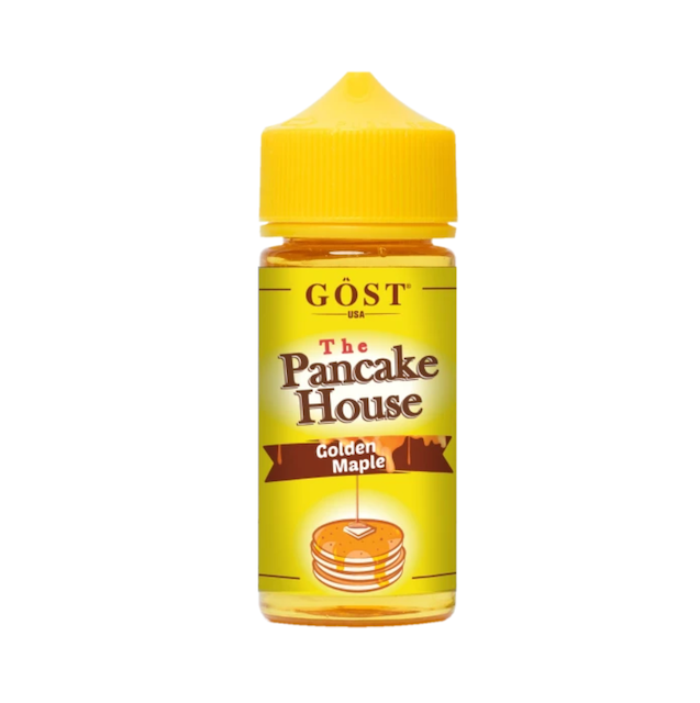 The Pancake House Ejuice Golden Maple