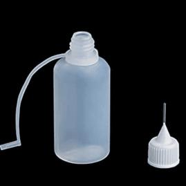 30ml Squeezable LDPE Needle Tip Bottle