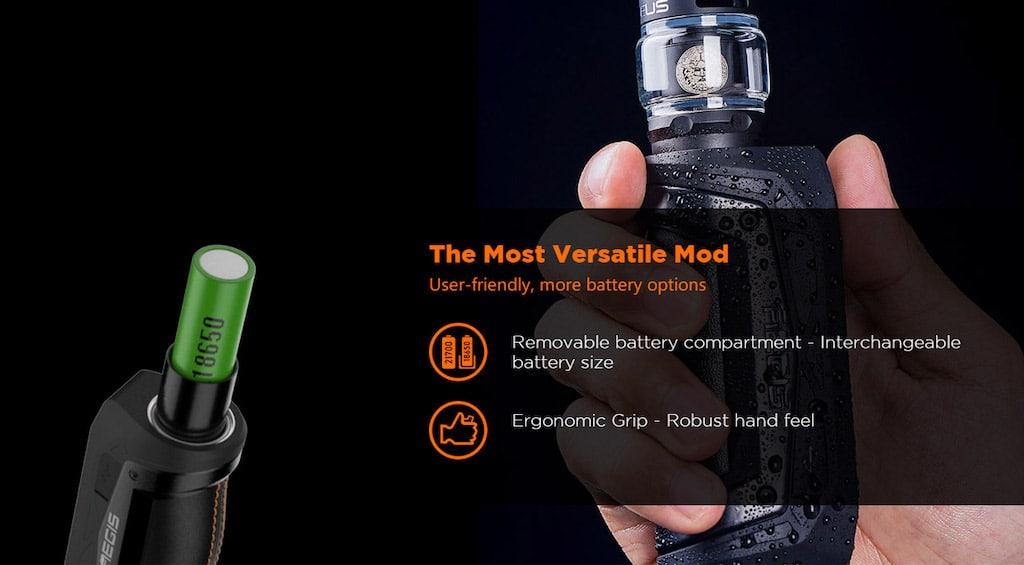 Geekvape Aegis Max 100W Mod Kit with Z Sub Ohm Tank Atomizer 5ml