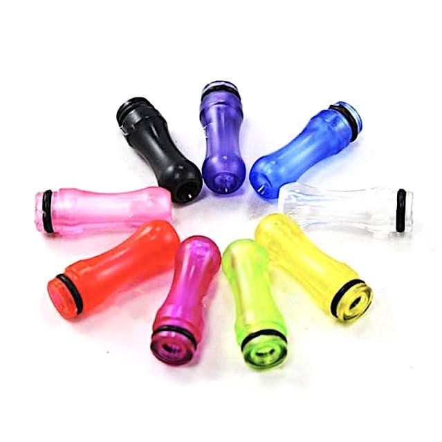 Transparent Acrylic 510 drip tip