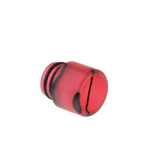 Acrylic 510 Drip Tip Mouthpiece Red Black