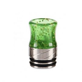 Stainless Steel Sequins 810 Drip Tip Green