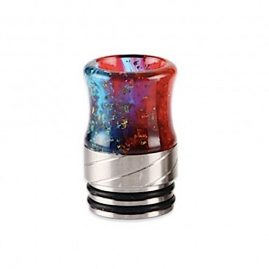 Stainless Steel Sequins 810 Drip Tip Red